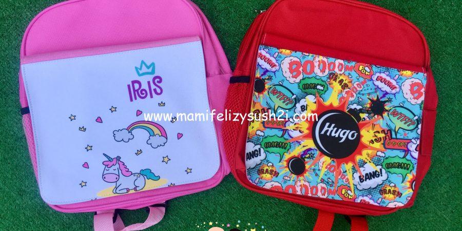 regalos personales mochilas
