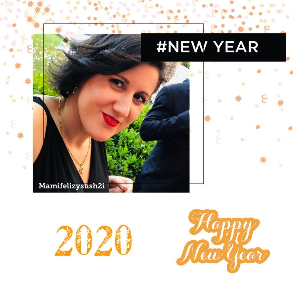 Felicitar año nuevo 2020