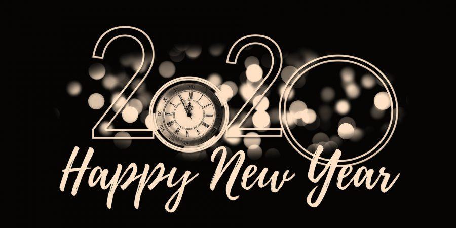 Feliz año nuevo 2020 Happy new year 2020
